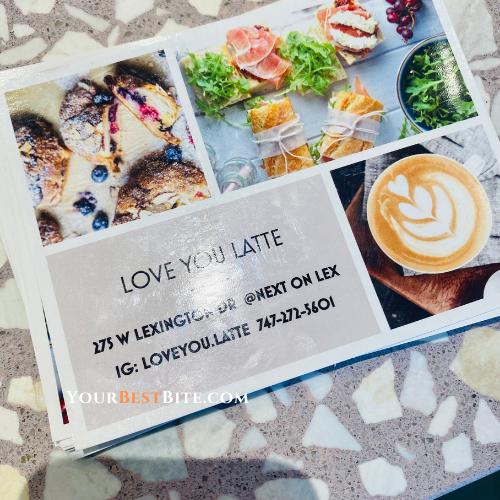 Love You Latte